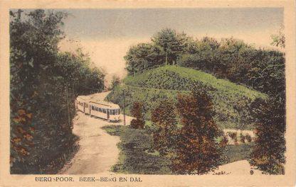 Ansichtkaart Beek Berg en Dal Bergspoor Tram HC12749