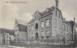 Ansichtkaart Enkhuizen Gereformeerd Weeshuis HC12759