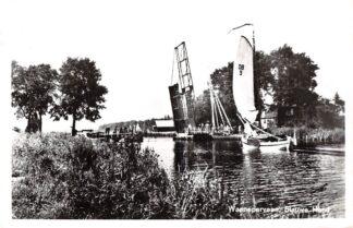 Ansichtkaart Wanneperveen Brug Blauwe Hand 1964 Steenwijkerland HC12761