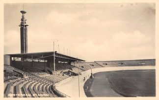 Ansichtkaart Amsterdam Olympisch Stadion 1936 Football Soccer Voetbal Sport HC12775