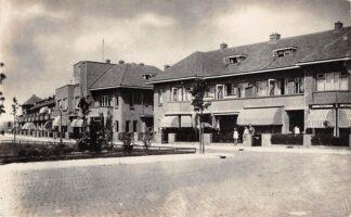 Ansichtkaart Voorburg Buitenrustplein 1947 Fotokaart HC12776