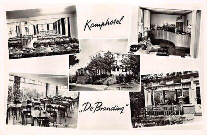 Ansichtkaart Noordwijk aan Zee Kamphotel De Branding Rembrandtweg 26 1957 HC12785