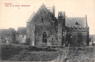Ansichtkaart Medemblik Kasteel Radboud 1909 HC12789