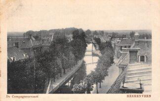 Ansichtkaart Heerenveen De Compagnonsvaart 1919 HC12794