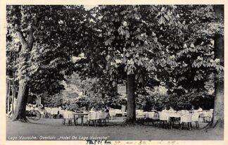 Ansichtkaart Lage Vuursche Overtuin Hotel De Lage Vuursche 1935 HC12802