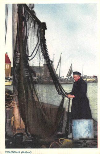 Ansichtkaart Volendam Nettenboetster Klederdracht HC12885