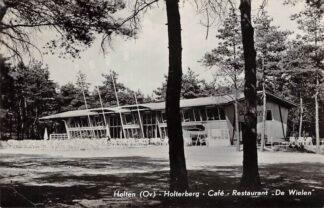 Ansichtkaart Holten Holterberg Café Restaurant De Wielen 1962 HC12893
