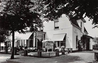 Ansichtkaart Otterlo Hotel Pension 't Witte Hoes Dorpstraat 35 HC12905