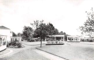 Ansichtkaart Voorthuizen Herstellingsoord Azareel Baron van Nagelstraat 9 Lighallen en recreatiezaal 1966 HC12908