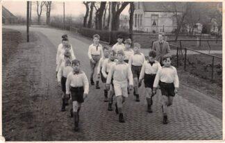 Ansichtkaart Beilen Fotokaart Krententocht 1955 HC12961