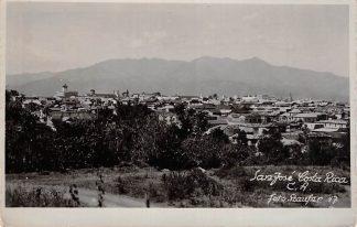 Ansichtkaart Costa Rica C.A. Fotokaart San José 1947 Noord-Amerika America HC12964