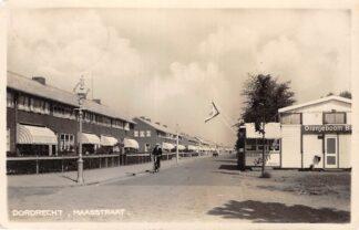 Ansichtkaart Dordrecht Maasstraat met Paviljoen Wanty Fotokaart 1938 HC12978
