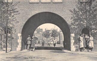 Ansichtkaart Dordrecht A.C.W. Staringstraat Ingang HC12998