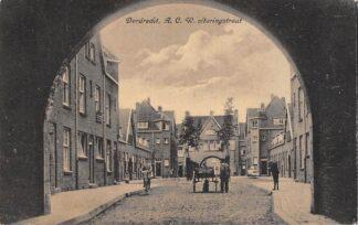 Ansichtkaart Dordrecht A.C.W. Staringstraat Hondenkar HC12999