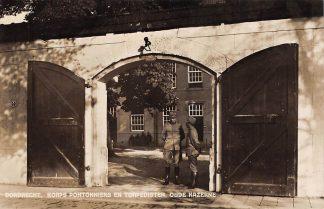 Ansichtkaart Dordrecht Korps Pontonniers en Torpedisten Oude Kazerne 1933 Soldaten Militair HC13007