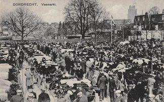 Ansichtkaart Dordrecht Veemarkt Marktdag HC13016