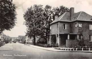 Ansichtkaart Aalsmeer Hadleystraat 1947 Type fotokaart HC13070