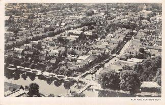 Ansichtkaart Alkmaar KLM Luchtfoto 14217 1947 HC13074