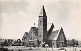 Ansichtkaart Barendrecht Gereformeerde Kerk 1960 HC13083