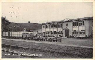 Ansichtkaart Ermelo Garage Vel. Autodienst VAD Bus Veluwe 1960 HC13086