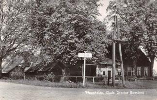 Ansichtkaart Hooghalen Oude Drentse Boerderij 1959 HC13088