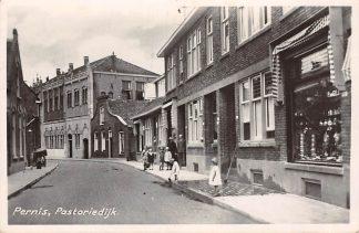 Ansichtkaart Pernis Pastoriedijk 1951 Rotterdam HC13090