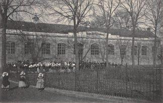Ansichtkaart Kapelle Gemeenteschool met kinderen School HC13109