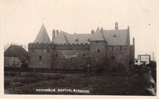 Ansichtkaart Medemblik Kasteel Radboud Bromografia Fotokaart 1932 HC13114