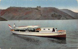 Ansichtkaart Nederlandsch-Indië Sumatra Missionsboot Tole auf dem Tobasee Indonesië Indonesia Azië Rheinische Mission Duitsland   HC13123