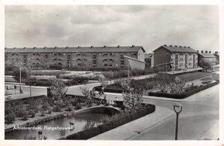 Ansichtkaart Alblasserdam Flatgebouwen 1957 HC13138
