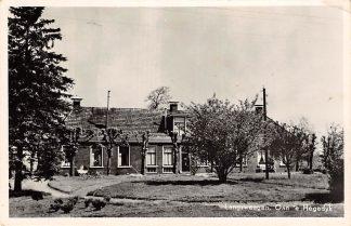 Ansichtkaart Langezwaag Langsweagen Oan 's Hegedyk 1956 Opsterland HC13143