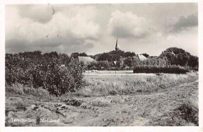 Ansichtkaart Terschelling Midsland 1951 HC13181