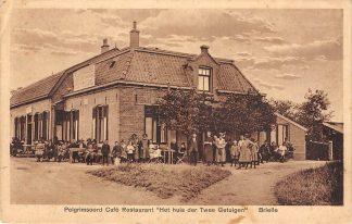 Ansichtkaart Brielle Pelgrimsoord Café Restaurant Het Huis der Twee Getuigen HC13189