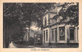Ansichtkaart Hoogezand Groeten uit 1930 HC13214