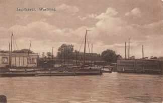 Ansichtkaart Warmond Jachthaven Schepen 1921 Teylingen HC13216
