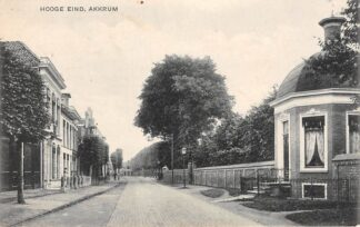 Ansichtkaart Akkrum Hooge Eind 1919 Heerenveen HC13218