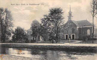 Ansichtkaart Stadskanaal Ned. Hervormde Kerk 1912 HC13229
