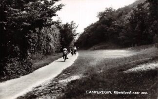 Ansichtkaart Camperduin Rijwielpad naar zee 1963 HC13247