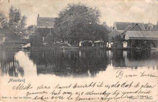 Ansichtkaart Meerkerk 1904 Alblasserwaard HC13257