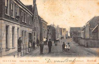 Ansichtkaart Meerkerk Tolstraat 1903 Alblasserwaard HC13276
