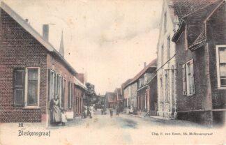Ansichtkaart Bleskensgraaf 1904 Alblasserwaard Graafstroom Molenlanden HC13278