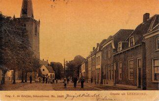 Ansichtkaart Lexmond Grote uit Leksmond 1906 De Gruijter HC13284