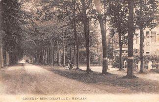 Ansichtkaart Ginneken bij Breda Burgemeester De Manlaan 1930 HC13285