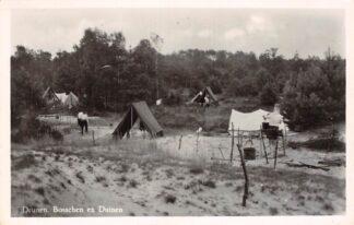 Ansichtkaart Drunen Bosschen en Duinen 1951 HC13294