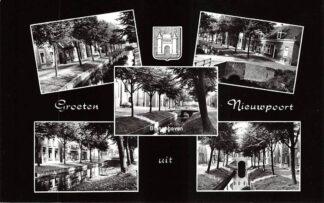 Ansichtkaart Nieuwpoort Groeten uit 1975 Alblasserwaard HC13329