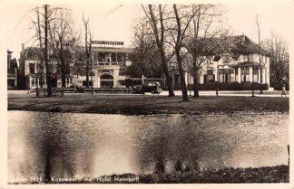 Ansichtkaart Laren (NH) Koesweerd met Hotel Hamdorff 1956 HC13333