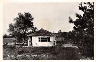 Ansichtkaart Zelhem Kampeer-centrum Het Zonnetje 1958 Bronckhorst HC13345