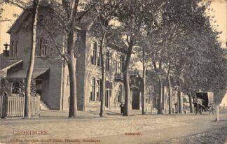 Ansichtkaart Groningen Abattoir 1907 HC13414