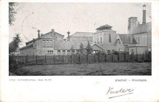 Ansichtkaart Groningen Abattoir 1908 HC13415