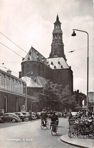 Ansichtkaart Groningen A-Kerk 1960 HC13432